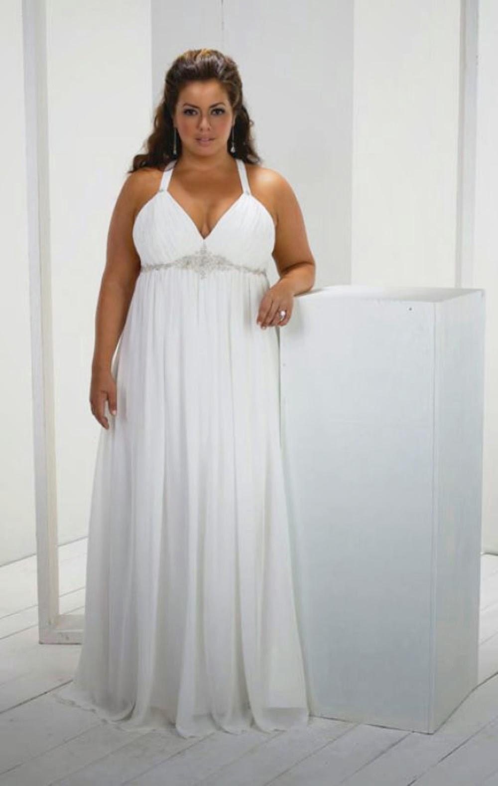 Фото свадебных платьев для полных беременных