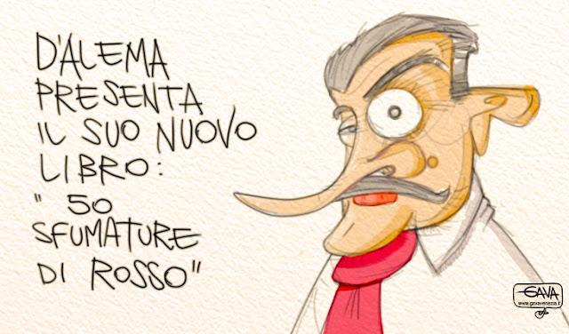 Gava satira vignette Pd Copas D'Alema