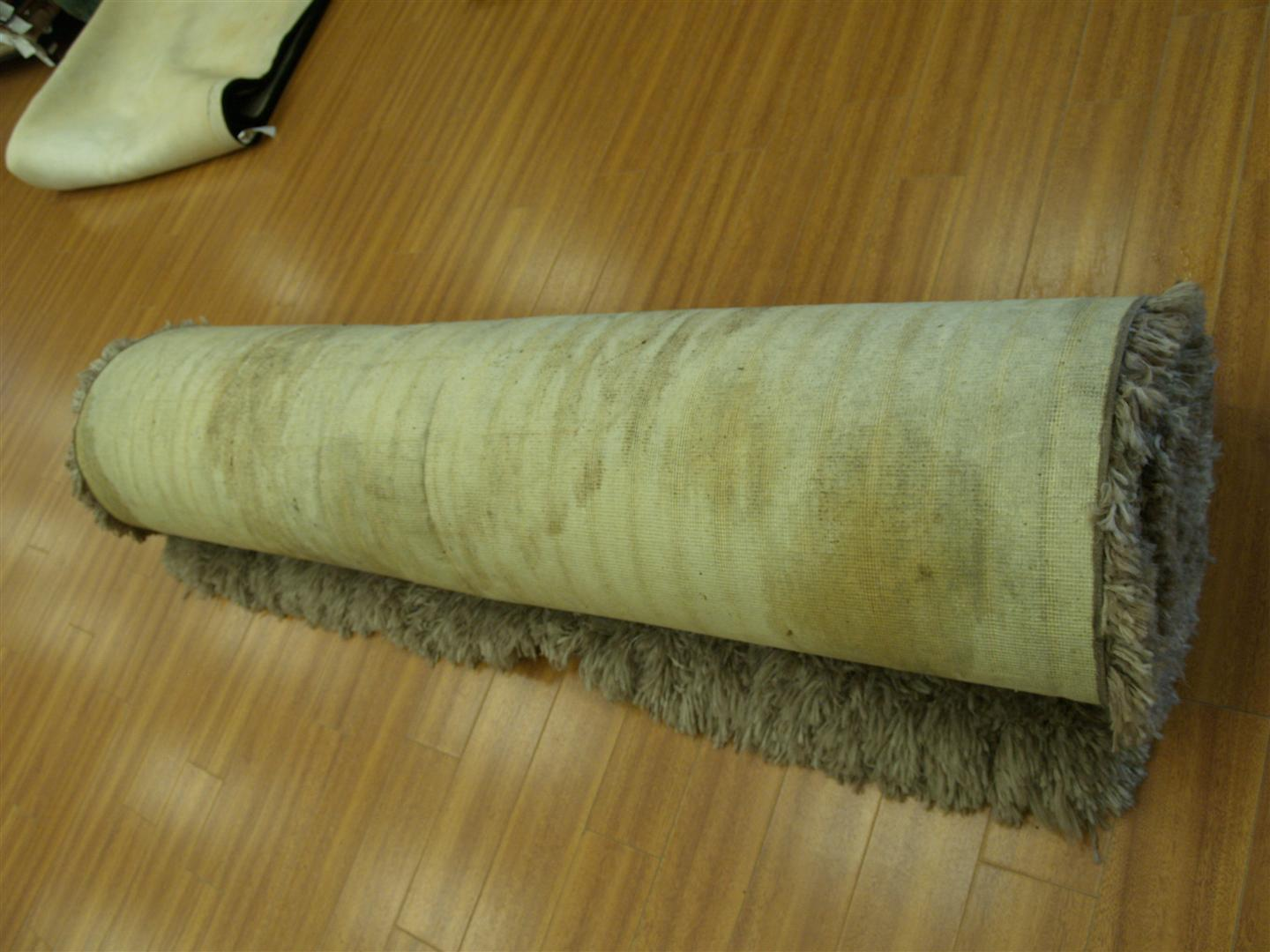 We recently wrote about the cleaning of shag rugs and our superior methods  of cleaning them; well recently a customer came in with their shag rug that  had