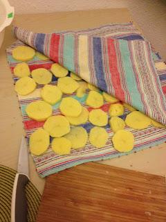patate asciugate