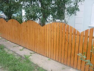 Деревянный забор штакетник. Фото 14