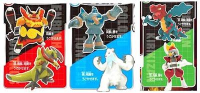 Pokemon Pose Figures W Emboar Haxorus Beartic Golurk Druddigon Bisharp TTA