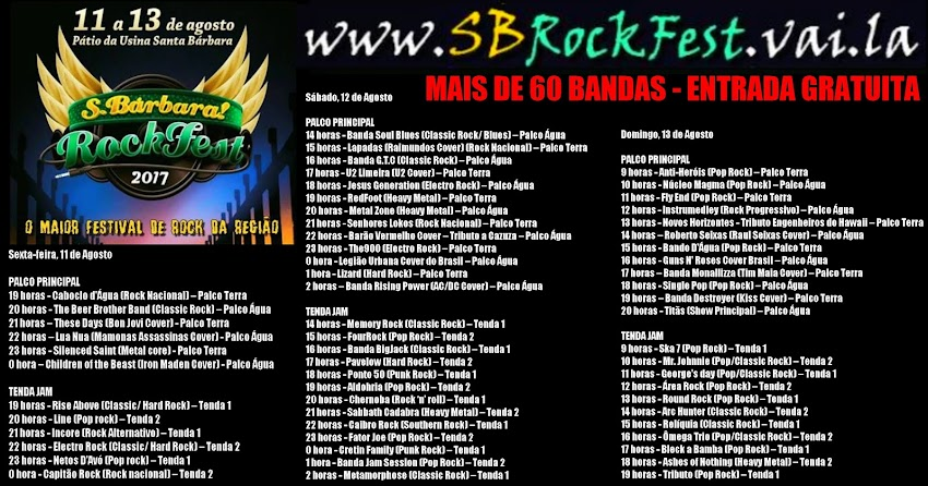 SB Rock Fest
