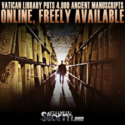 Vatican Library Puts 4,000 Ancient Manuscripts Online, Freely Available  Vatican%2BLibrary%2BPuts%2B4%252C000%2BAncient%2BManuscripts%2BOnline%252C%2BAvailable%2BFor%2BFree