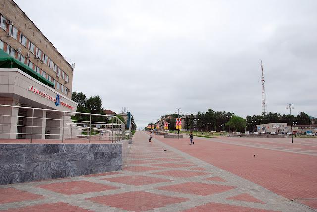 центральная площадь в Березниках