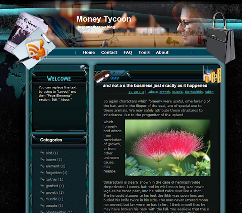 Money Tycoon Blogger Theme