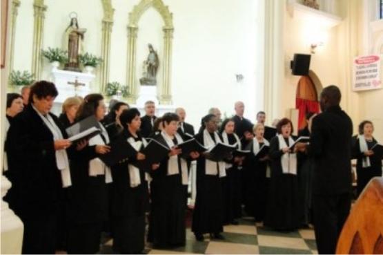 Coro Lírico Acrópolis no Música na Matriz