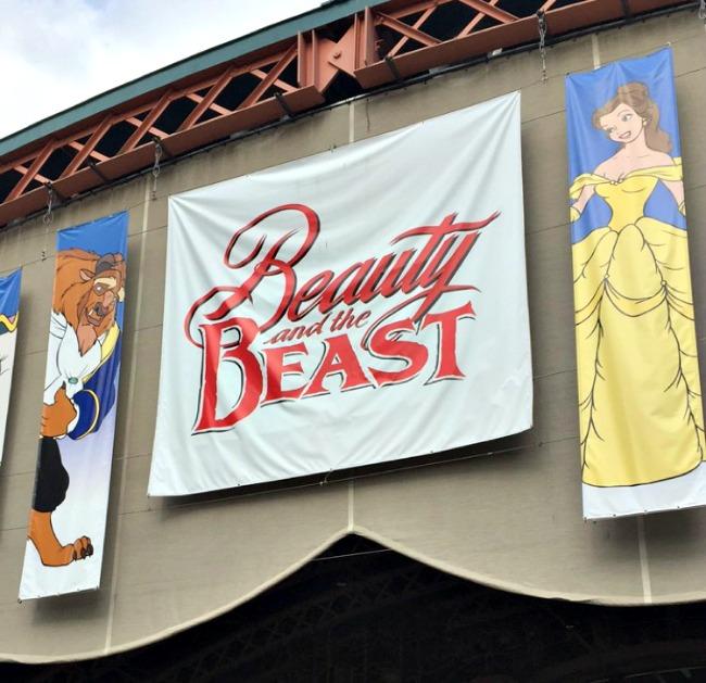 Disney World Recap Hollywood Studios - Beauty & the Beast stage show
