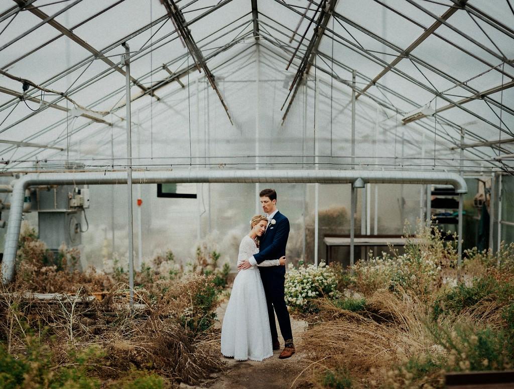 Bröllopsfotograf | Regn | Växthus | Borlänge