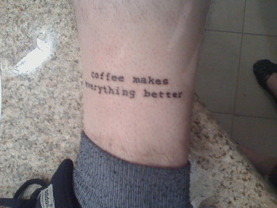 Imagem2 #tattoofriday   Coffeelovers
