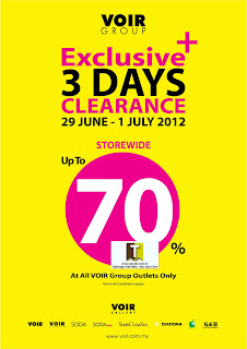 VOIR Group Exclusive Clearance Sale