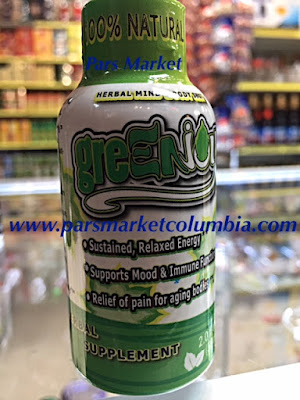 GreenJoy Kratom shot 100% All Natural Herbal at Pars Market Columbia Maryland 21045