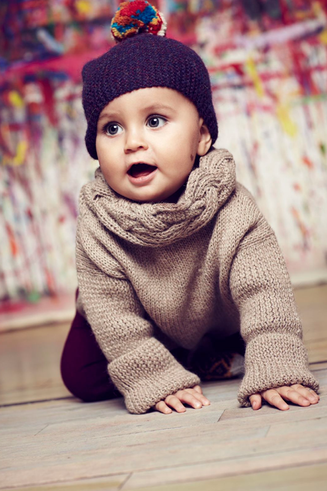 Baby alpaca knits by Cabbages and Kings AW14 - fair trade