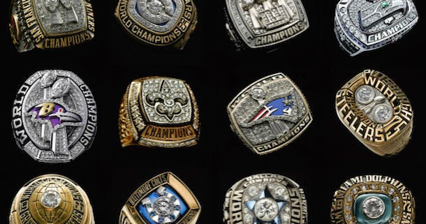 10 Stylish Super Bowl Championship Rings