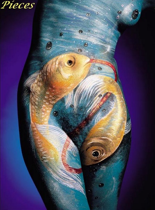 Body Painting Oroscopo Sexy