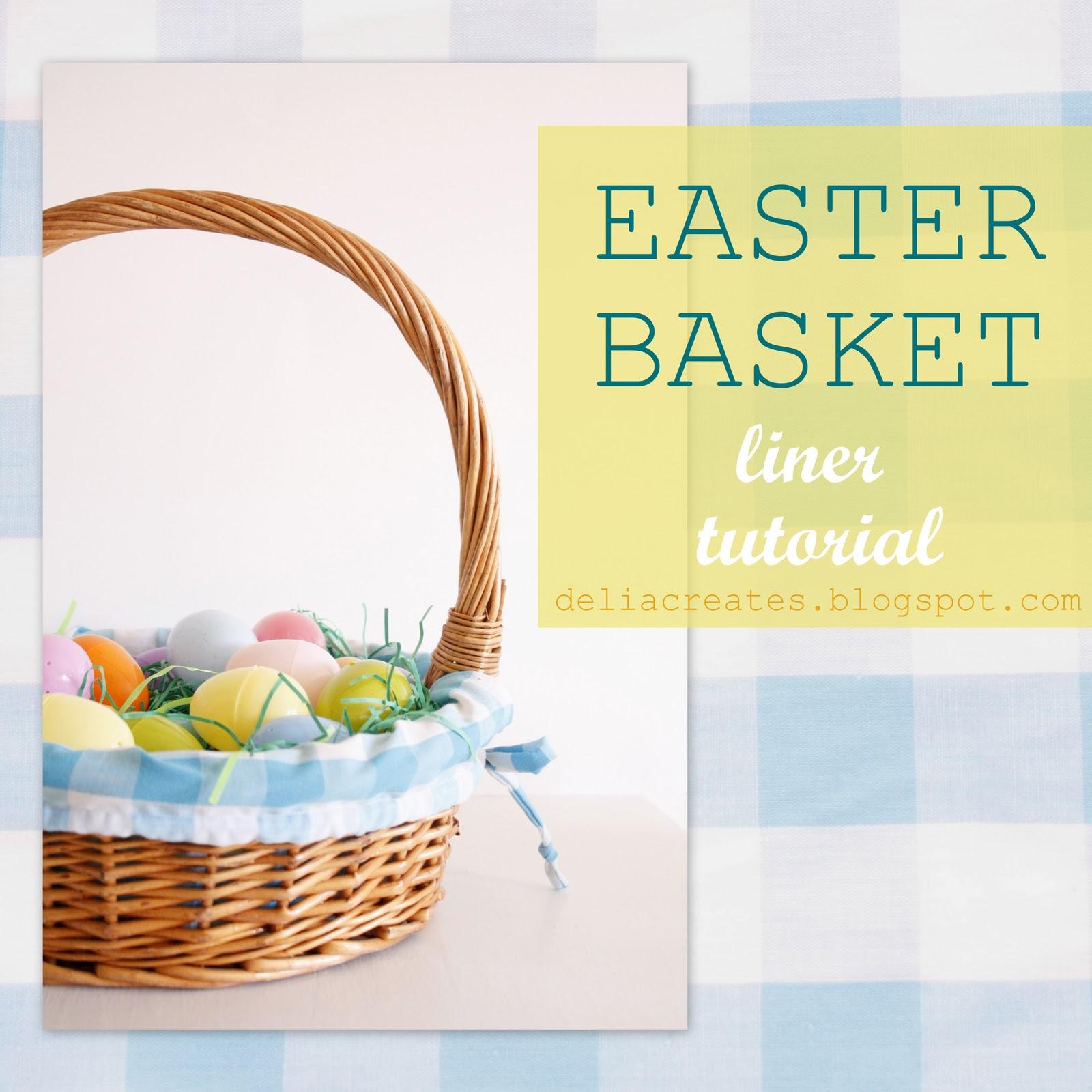 Easter basket liner tutorial basketlinereditg negle Choice Image