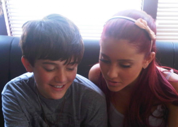 is greyson chance dating ariana grande Ariana grande-butera ariana is also known for playing the role of charlotte for the musical 13 on broadway greyson chance i unfriend you.
