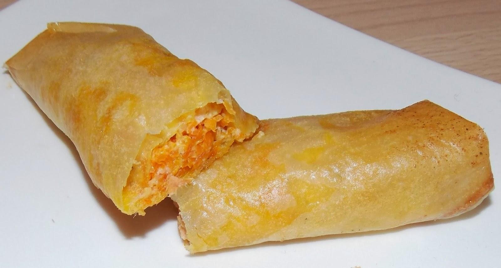 Brick saumon fume carottes for Cuisine simple et originale