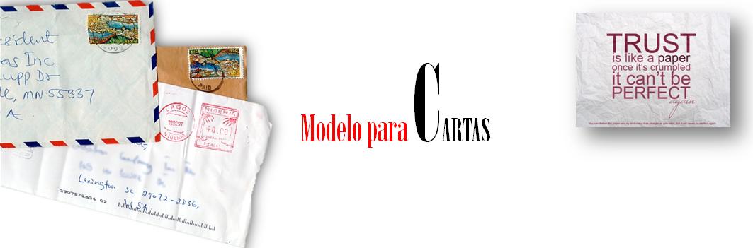 Modelo para Cartas