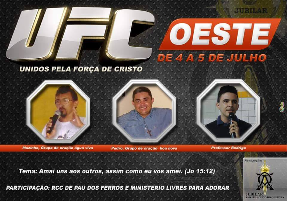 VEM AÍ, UFC OESTE!