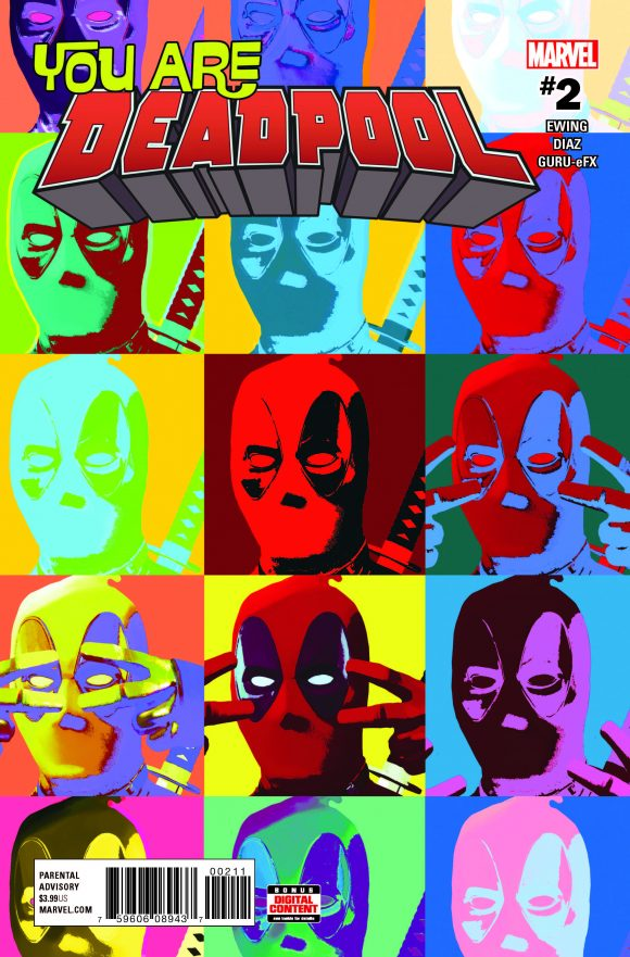 YOU ARE DEADPOOL#2