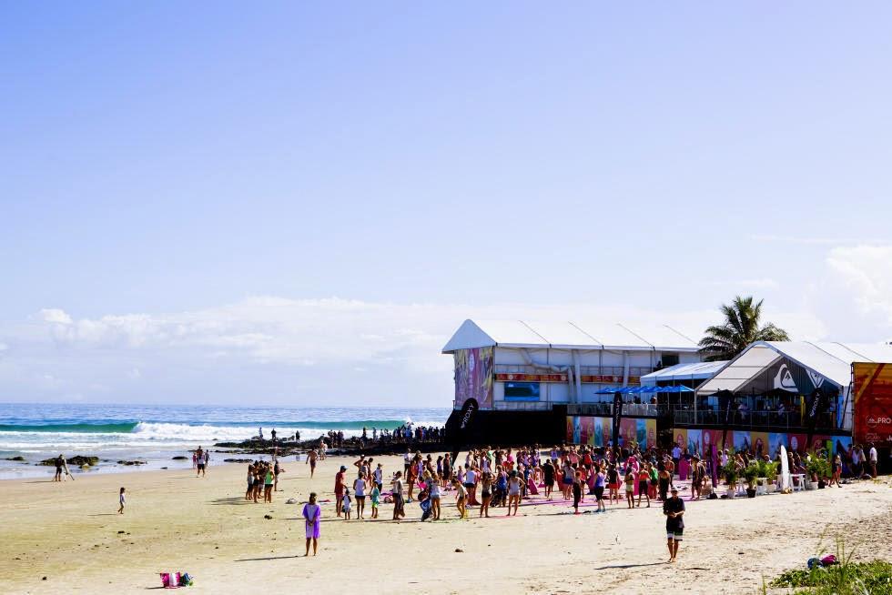 37 Roxy Pro Gold Coast 2015 Rainbow Bay Foto WSL Kelly Cestari