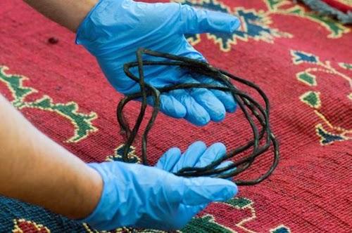 Heroin Smuggling inside Carpets