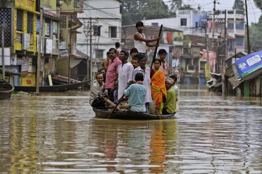 40% of Kolkata's urban population can be under threat in case of a 25 cm rise in sea - level