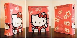 Hello Kitty Microsoft Xbox 360 game console