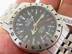 GLYCINE AIRMAN 2000 MILITARY WORLD TIMER - AUTOMATIC ETA CAL 2893-2