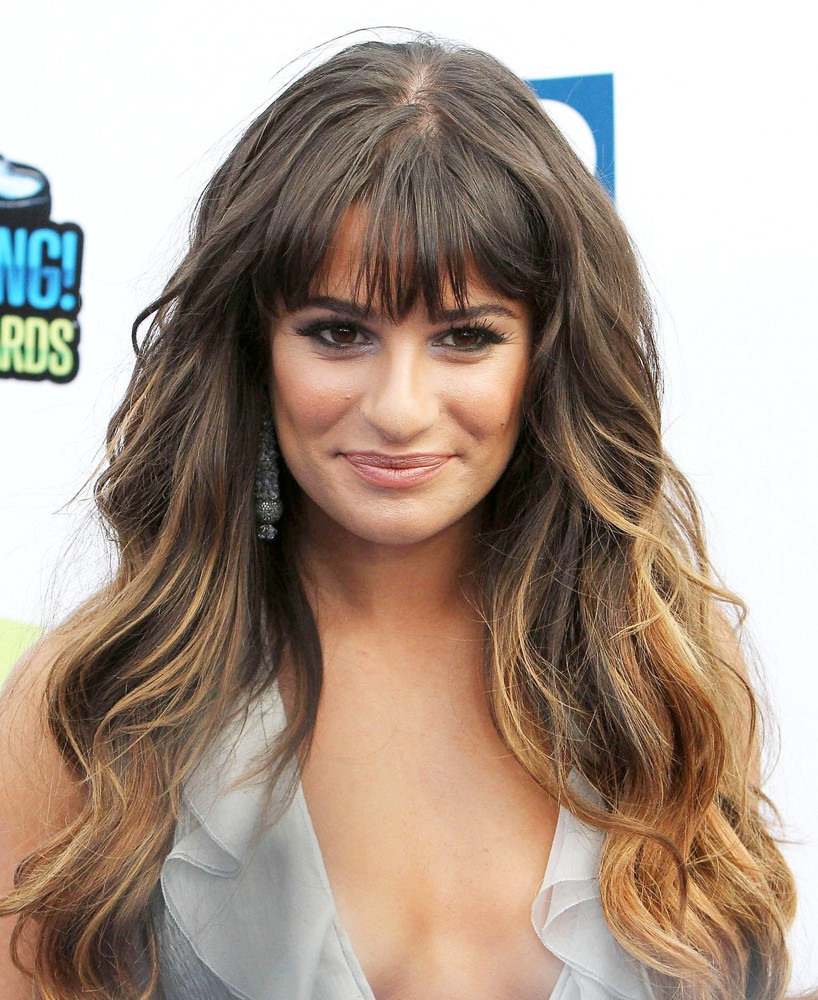 Cabelo Novo Da Lea Michele, Também Conhecido Como Meu Próximo