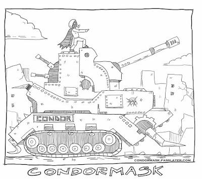 condormask tanque