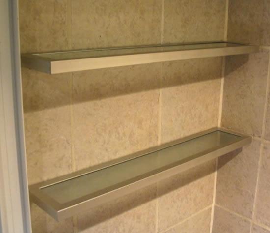 Ciudad aberturas srl blog accesorios de ba o for Estantes vidrio bano