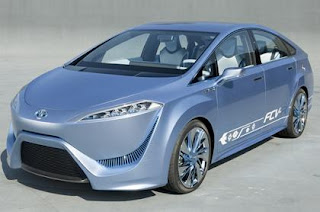 toyota hydrogen fuel cell cars