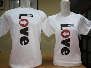 Model T-Shirt Pasangan