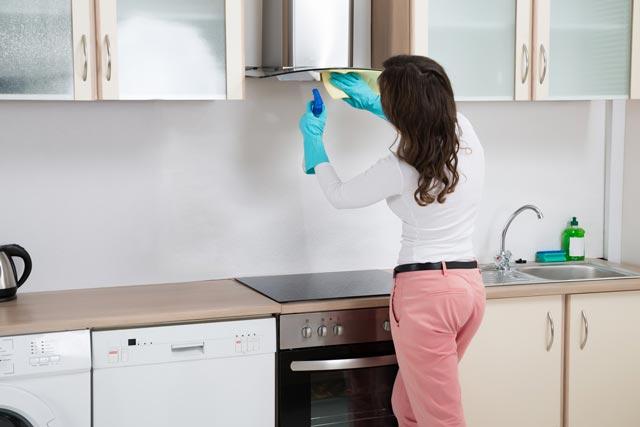 Cómo limpiar tu campana extractora