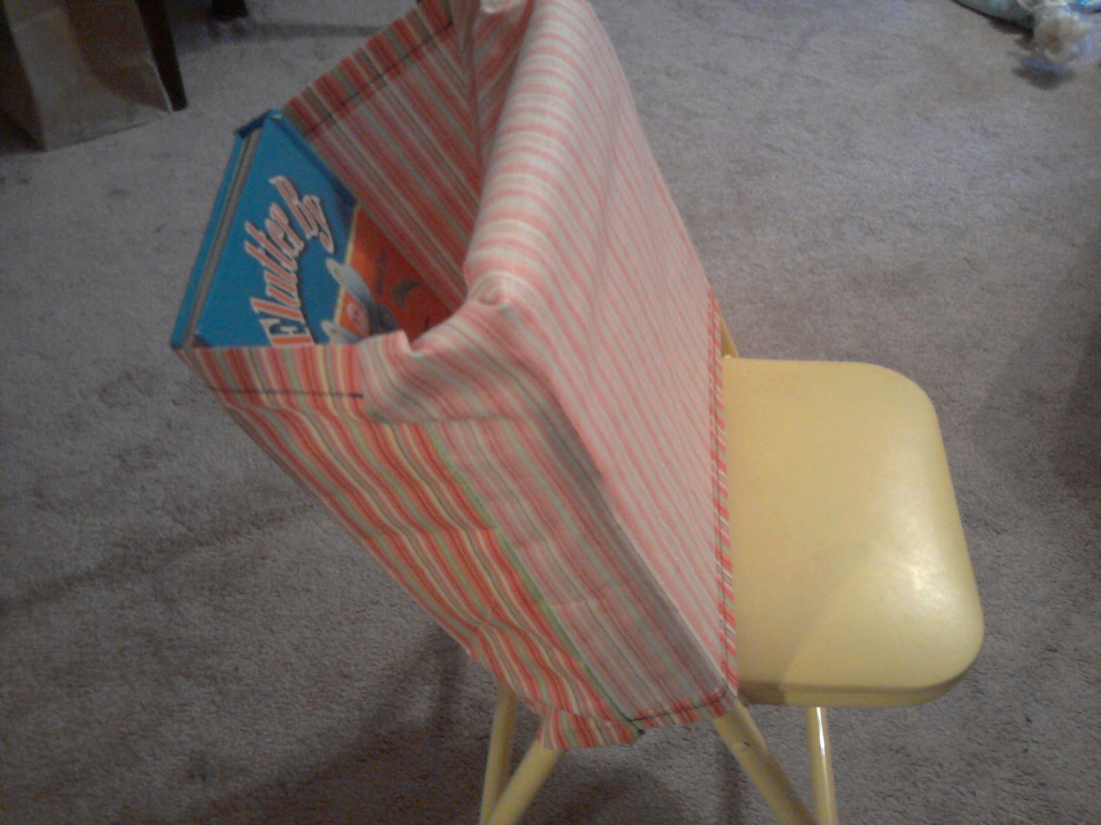 Chair Pocket Tutorial Easy Peasy Lemon Squeezy Hello Mrs Sykes