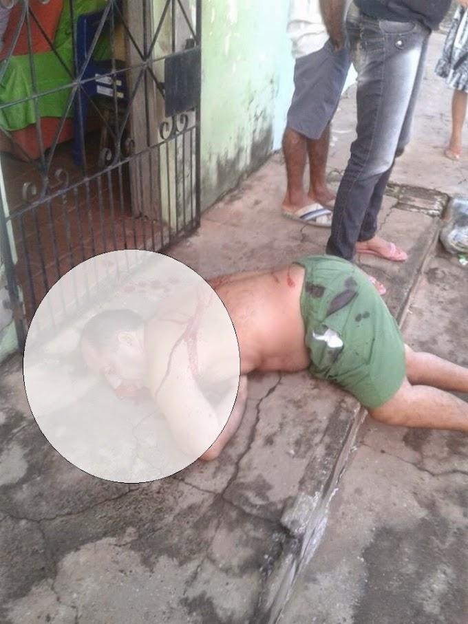 Portador de deficiência física é assassinado na porta de casa