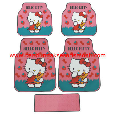 Karpet Kitty + Strawberry Pink Perancis