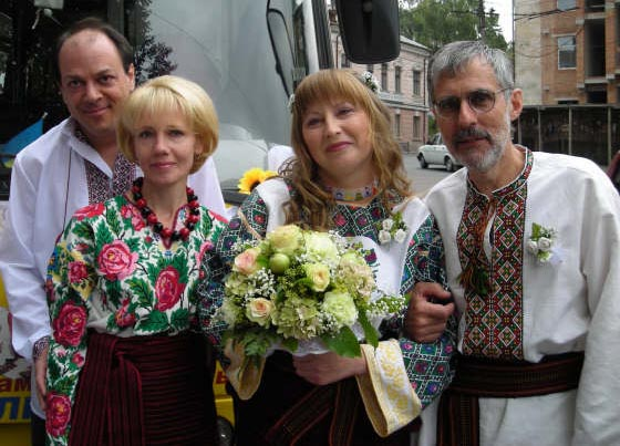 Mariya and Ron's wedding in Western Ukraine
