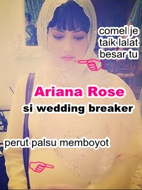 gambar Ariana Rose, Ariana Rose the wedding breaker