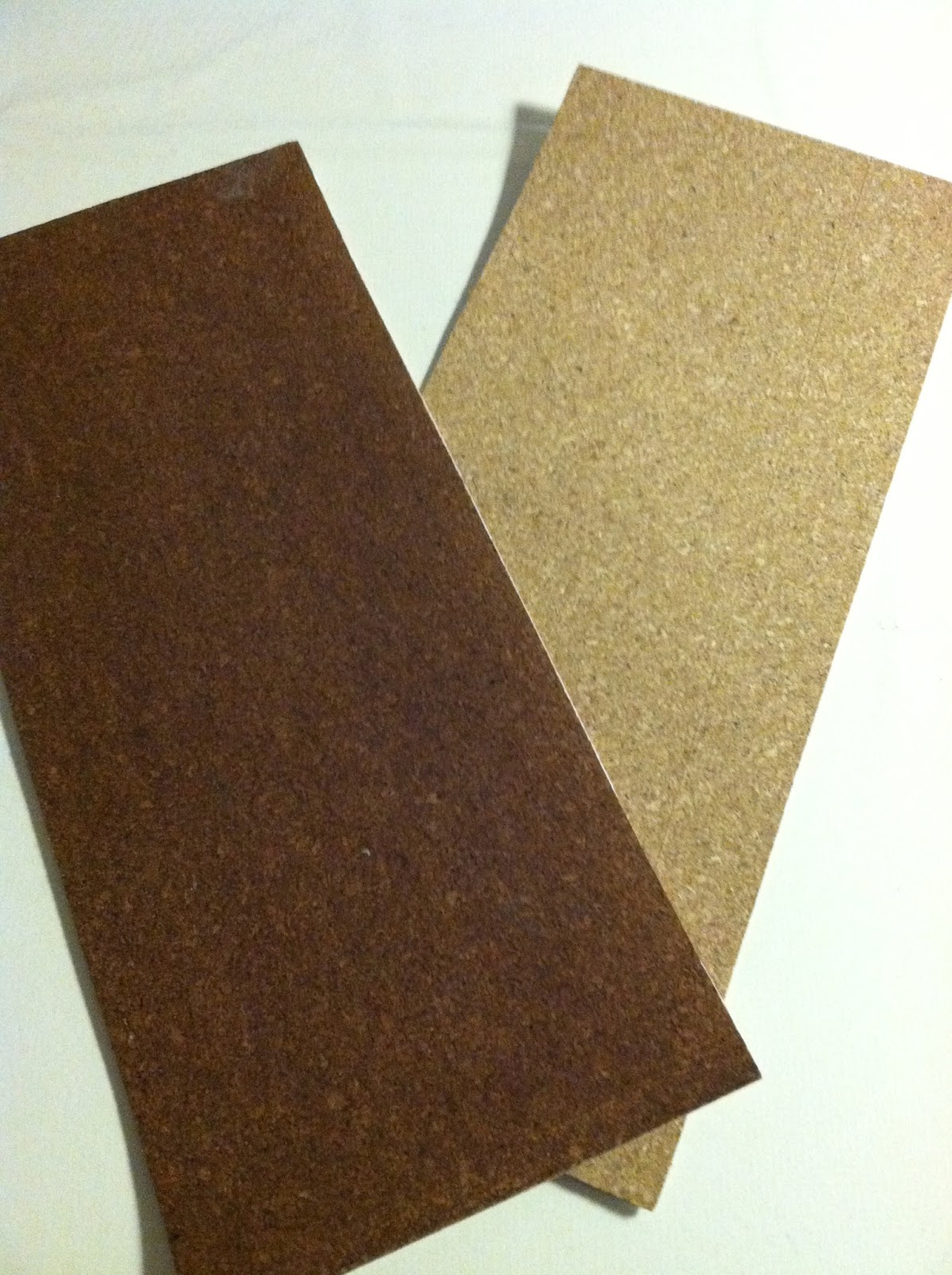 Sandpaper Sheets For Drawing 2 Sheets of Cork i am Using