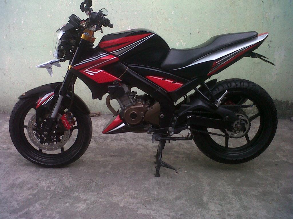 Modifikasi Sepeda Motor Yamaha Vixion Terbaru