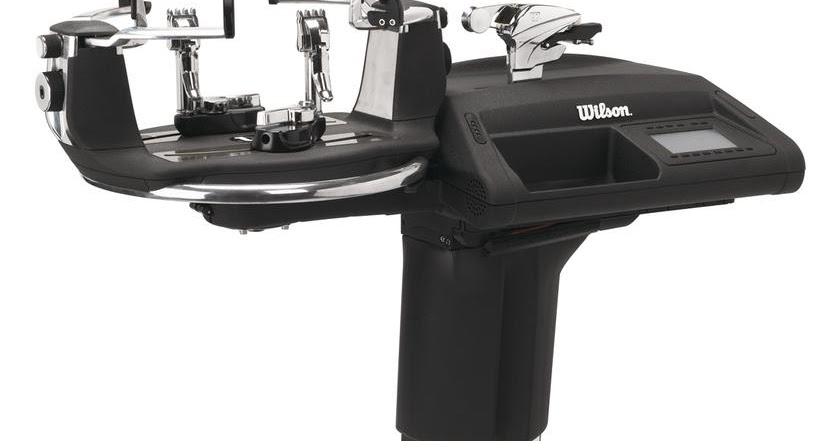 wilson stringing machine