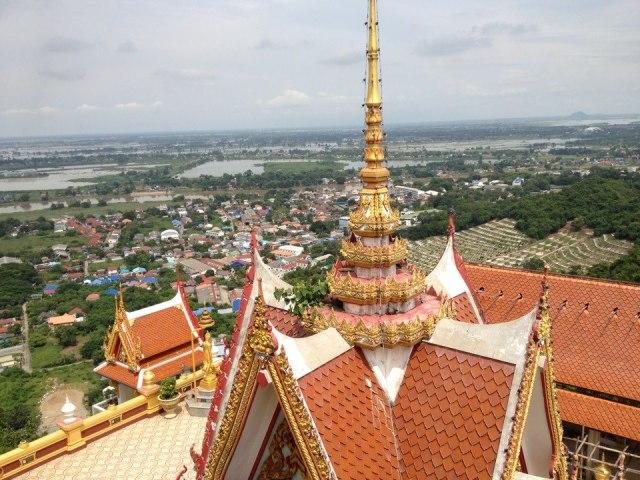 Nakhon Sawan city view from Wat Kiriwong