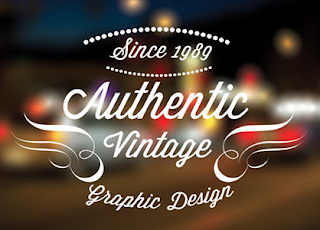 10 Vintage retro Labels