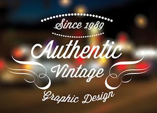 10 Vintage retro Labels