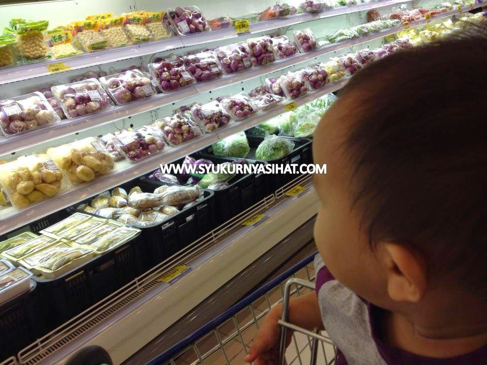 Bawa Anak Jalan-Jalan Di Pasaraya Mydin Mall Bertam