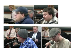 THE FEARSOME FOURSOME OF ACTIVISTS SPEAK AT THE TRIMET BOARD MEETING