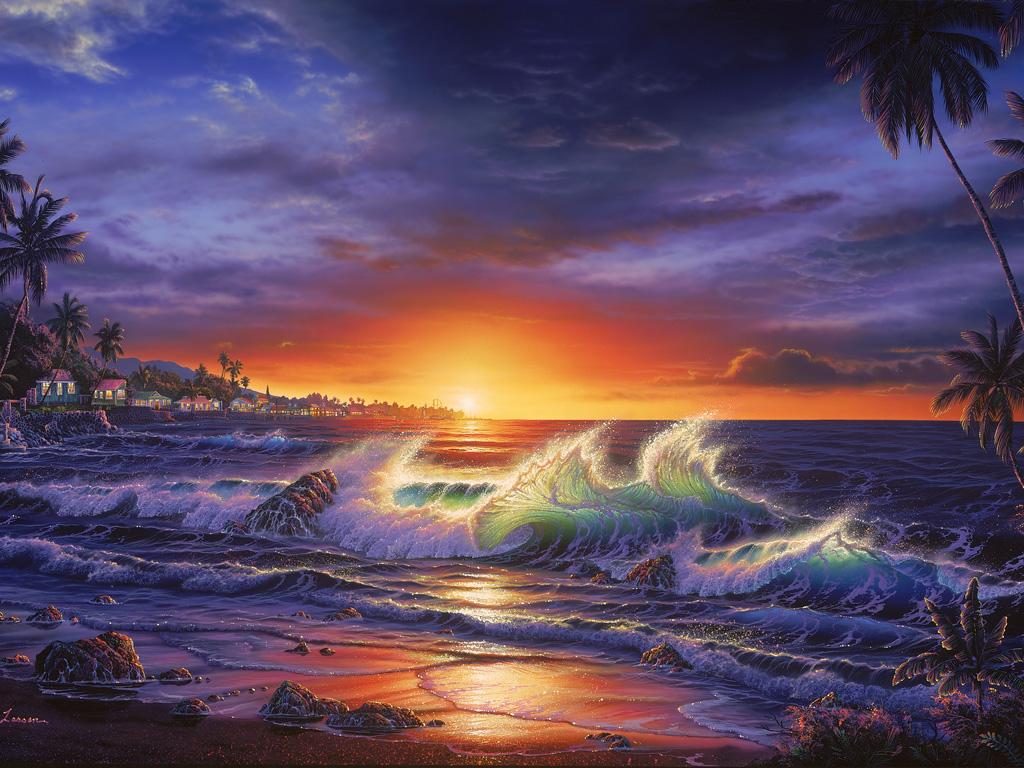 Il mondo di Mary Antony: Christian Lassen Reise - I paesaggi marini